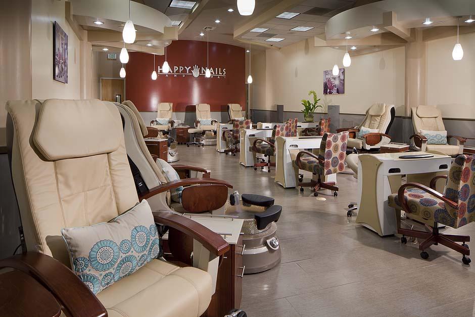 Happy Nails and Spa California mani pedi salon