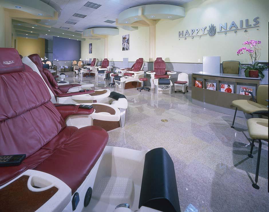 California nail salon reviews