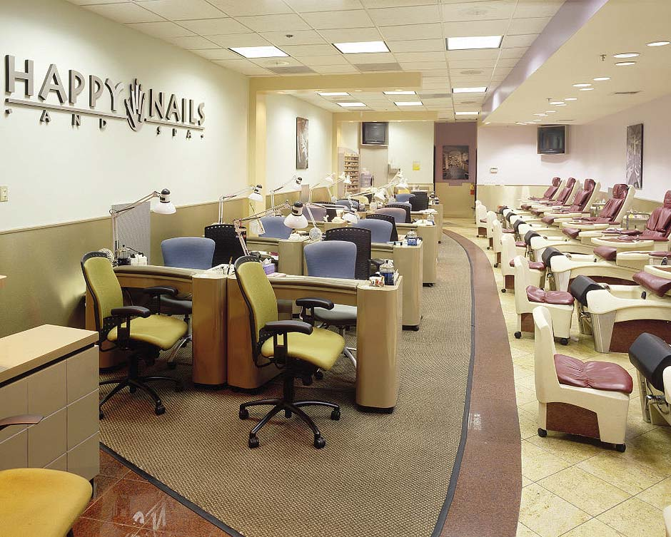 Nail salons in California Happy Nails and Spa