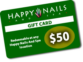 Happy Nails - Gift Card
